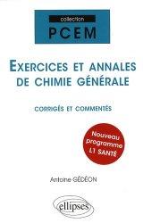 Dernières parutions dans Les cours du PCEM, Exercices et annales de chimie générale