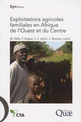 Souvent acheté avec Élevage en régions chaudes, le Exploitations agricoles familiales en Afrique de l'Ouest et du Centre