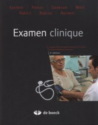 Souvent acheté avec Sémiologie médicale, le Examen clinique