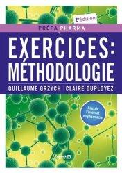 Dernières parutions dans Prépa-Pharma, Exercices: méthodologie