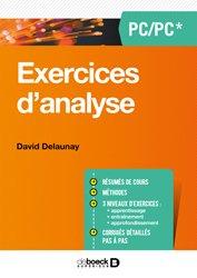 Souvent acheté avec Pour comprendre les maladies liées aux sucres, le Exercices d'analyse PC/PSI