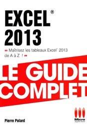 Dernières parutions dans Le guide complet, Excel 2013