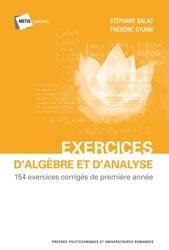 Dernières parutions sur LMD, Exercices d'algèbre et d'analyse