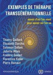 Dernières parutions sur Thérapies diverses, Exemples de thérapie transgénérationnelle