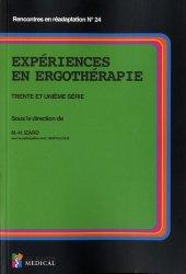 Dernières parutions sur Orthopédie - Traumatologie, Expériences en ergothérapie