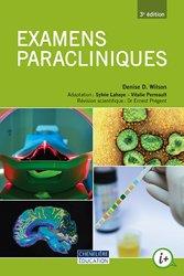 Dernières parutions sur Démarche de soins, Examens paracliniques