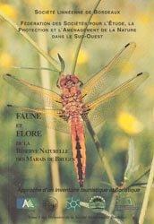 Dernières parutions dans Mémoires de la Société Linnéenne de Bordeaux, Faune et Flore de la Réserve Naturelle des Marais de Bruges