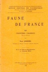 Dernières parutions sur Coléoptères, Faune de France n°51 coléoptères carabiques