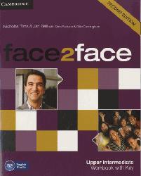 Dernières parutions dans face2face, face2face, Upper Intermediate - Workbook with Key