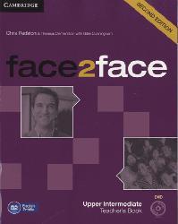 Dernières parutions dans face2face, face2face, Upper Intermediate - Teacher's Book with DVD