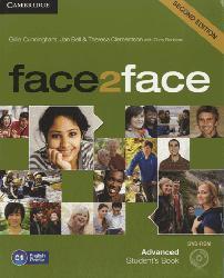 Dernières parutions dans face2face, face2face, Advanced - Student's Book with DVD-ROM