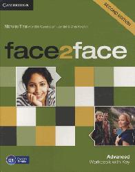 Dernières parutions dans face2face, face2face, Advanced - Workbook with Key