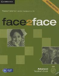 Dernières parutions dans face2face, face2face, Advanced - Teacher's Book with DVD