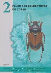 Dernières parutions sur Coléoptères, Faune des coléoptères de Corse volume 2