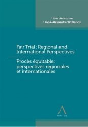 Dernières parutions sur Droit international public, Fair trial - proces equitable
