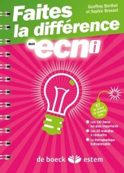 Souvent acheté avec Tout l'ECN, le Faites la différence aux ECNi majbook ème édition, majbook 1ère édition, livre ecn major, livre ecn, fiche ecn
