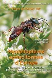 Nouvelle édition Faune 102 - Hyménoptères sphéciformes d'Europe Volume 2