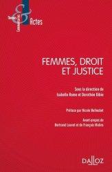 Dernières parutions dans Thèmes et commentaires, Femmes, droit et justice