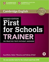 Dernières parutions dans First for Schools Trainer, First for Schools Trainer - Six Practice Tests without Answers with Audio