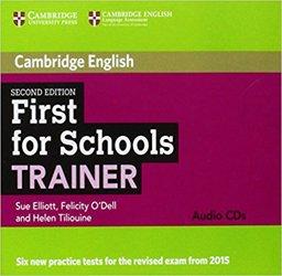 Dernières parutions sur FCE, First for Schools Trainer - Audio CDs (3)