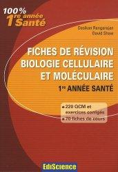 Souvent acheté avec QCM et exercices corrigés et commentés d'histologie et d'embryologie, le Fiches de révision en biologie cellulaire et moléculaire
