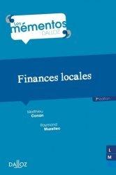 Dernières parutions sur Finances locales, Finances locales. 7e édition