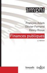 Dernières parutions dans Amphi, Finances publiques. 4e édition