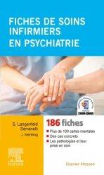 Dernières parutions sur Diagnostics - Fiches de soins, Fiches de soins infirmiers en psychiatrie