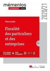 Dernières parutions sur Droit fiscal, Fiscalité des particuliers et des entreprises. 21e édition