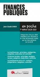 Dernières parutions dans En poche, Finances publiques. 7e édition
