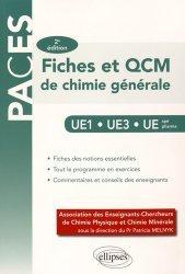 Dernières parutions dans PACES, Fiches & QCM de chimie générale