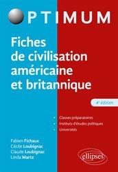 Dernières parutions dans Optimum, Fiches de civilisation américaine et britannique