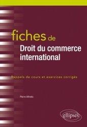 Dernières parutions dans Fiches, Fiches de droit du commerce international