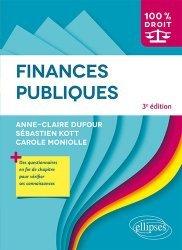 Dernières parutions dans 100% DROIT, Finances publiques. 3e édition