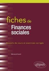 Dernières parutions sur Finances publiques, Fiches de finances sociales