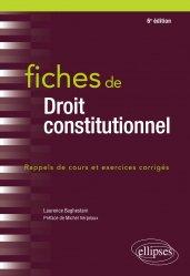 Dernières parutions dans Fiches, Fiches de droit constitutionnel - 6e édition