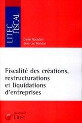 Dernières parutions dans Litec fiscal, Fiscalité des créations, restructurations et liquidations d'entreprises