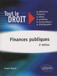 Dernières parutions dans Tout le droit, Finances publiques. 2e édition