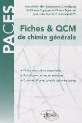 Souvent acheté avec 900 QCM de biologie cellulaire, histologie et embryologie UE2, le Fiches & QCM de chimie générale