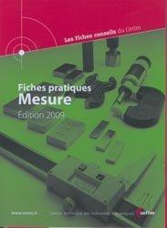 Dernières parutions dans Les Fiches conseil du CETIM, Fiches pratiques Mesure Edition 2009