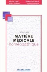 Souvent acheté avec Le répertoire homéopathique de Kent, le Fiches de matière médicale homéopathique