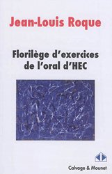 Dernières parutions sur Maths pour l'économie, la gestion et la finance, Florilège d'exercices de l'oral HEC