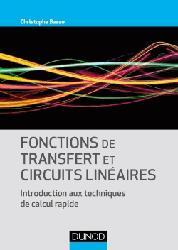 Dernières parutions sur Maths pour l'ingénieur, Fonctions de transfert et circuits linéaires