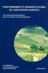 Souvent acheté avec Index des prix et des normes agricoles 2006-2007, le Fonctionnement et diagnostic global de l'exploitation agricole