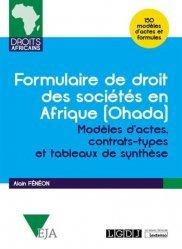 Dernières parutions dans Droits africains, Formulaire de droit des societés en Afrique