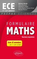 Souvent acheté avec Mathématiques ECE 2e année, le Formulaire Maths ECE 1er& 2e années