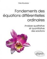 Dernières parutions sur Calcul différentiel, Fondements des équations différentielles ordinaires