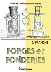 Dernières parutions sur Forgeron, Forges et fonderies