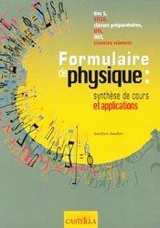 Dernières parutions sur BTS - DUT - IUT, Formulaire de physique : Synthèse de cours et applications