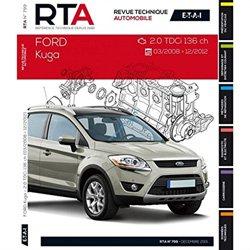 Dernières parutions dans Revue technique automobile, Ford Kuga I (03/2008 à 12/2012) 2.0TDCI 136ch